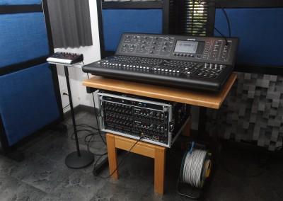 la console de mixage